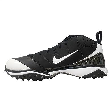 4ee5788a1e Amazon.com   Nike Air Speed Destroyer 5/8 Football/Lacrosse Turf Shoes ~  Black/White ~Size 17   Field Hockey & Lacrosse