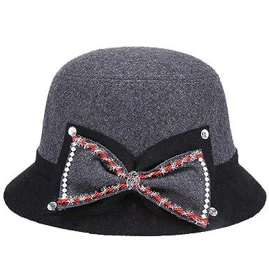 Sombreros Sombrero Elegante Sombrero De Bell Sombrero De Fieltro ...