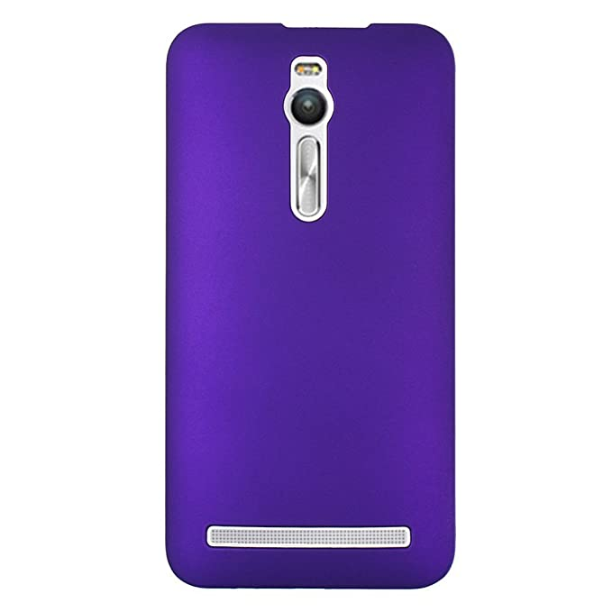 "11 opinioni per Custodia Zenfone 2 ZE550ML 5.5"" Cover in Plastica Rigida Viola, ASUS ZE551ML /"