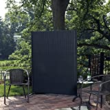 Versare Outdoor Wicker Resin Room Divider