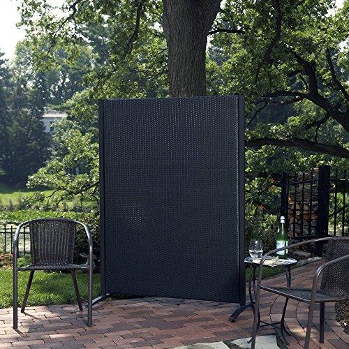 Versare Outdoor Wicker Resin Room Divider Buy Online In