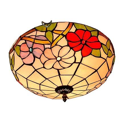 Yjmgrowing Tiffany, Estilo Vintage, Vitrina, Montaje ...