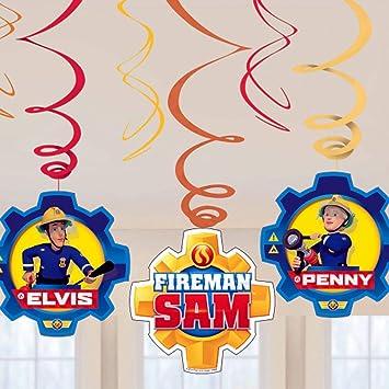 Sam El Bombero - Party - Decoración del Partido Remolino ...