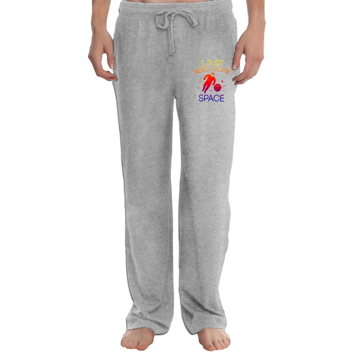 I Just Need Some Space-3 Mens Sweatpants Extra Long CottonSleep Pants for Mans