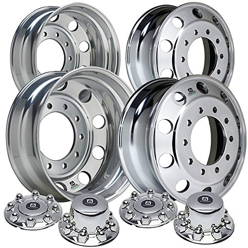 Alcoa 19.5'' Dura Bright Wheel Package for a Dodge Ram 4500 & 5500 Polished (2005 - current) by Alcoa