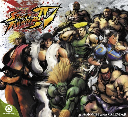 Street Fighter 2010 Calendar (Street Fighter Calendar)