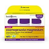 Basic Care Esomeprazole Magnesium Delayed Release Capsules, 20 mg, Acid Reducer, 42 Count