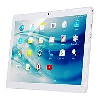 Qimaoo Tablette Tactile 10.1 Pouces Android 7.0,Tablette PC à Double Caméra et Double Slot de SIM Carte,1280x800 HD IPS Écran d'Affichage Quad Core,Supporte WiFi,GPS,Bluetooth 4.0(2GB RAM+32GB ROM)