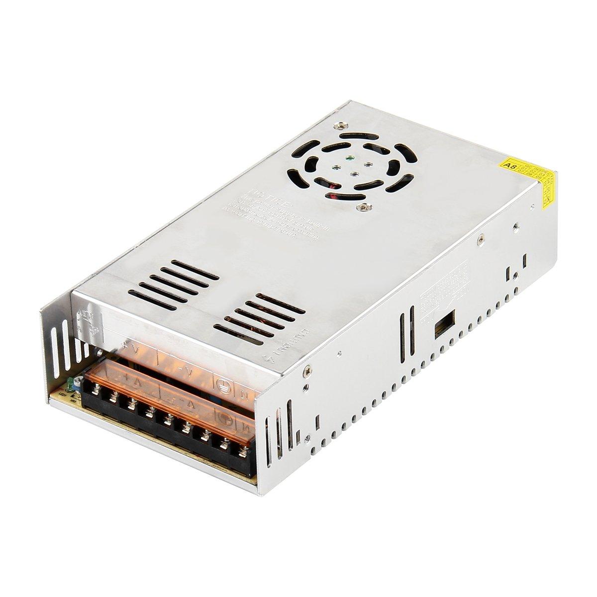 Transformateur 220v 12v SUPERNIGHT Alimentation à découpage AC220v à DC 12V 30A 360W Commutateur de Commutation régulateur Universel pour appareils ménagers, CCTV, Radio, Projet Informatique ECT.