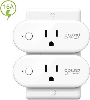 2-Pack TanTan Wi-Fi Smart Outlet Mini Socket