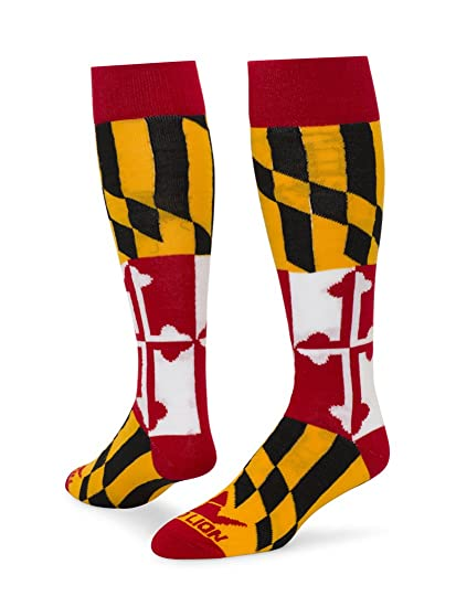 acddfd5be7 Red Lion Chesapeake Maryland Knee High Socks ( Multi Colored - Medium    Large )