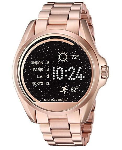 Michael Kors Access MKT5001 - Reloj de Pulsera para Mujer, Color Dorado: Amazon.es: Relojes