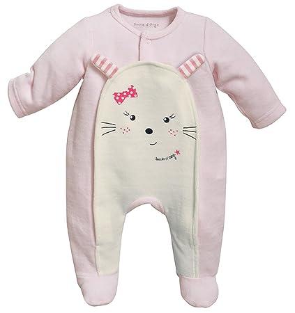 Azúcar de cebada – Sleepwear – femenino – 1 – Pijama apertura parte delantera rosa Rose