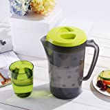 UPSTYLE Plastic Covered Water Pitcher with Lid