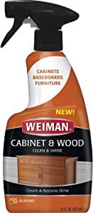 Weiman Wood Cleaner and Furniture Polish Spray - 16 Fluid Ounce