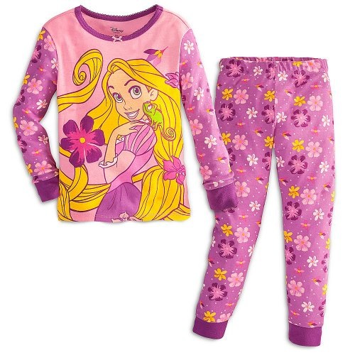 Disney Rapunzel Purple Cotton Pajama