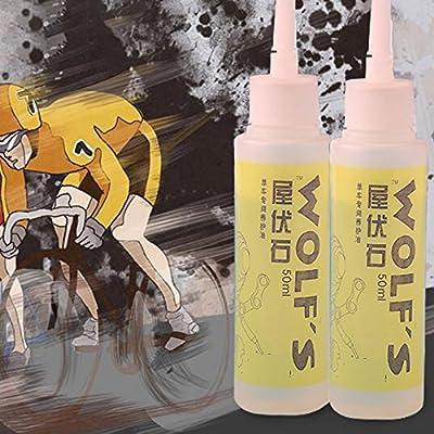 Beautyrain 1 PC Lubrifiant de chaîne d'huile d'entretien de bicyclette Vaporisateur d'huile de chaîne de bicyclette