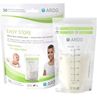 Easy Store - Extra-Strong Breast Milk Storage Bags for Fridge and Freezer (180ml, 6 fl.oz.), with Easy-to-Read Scaling…
