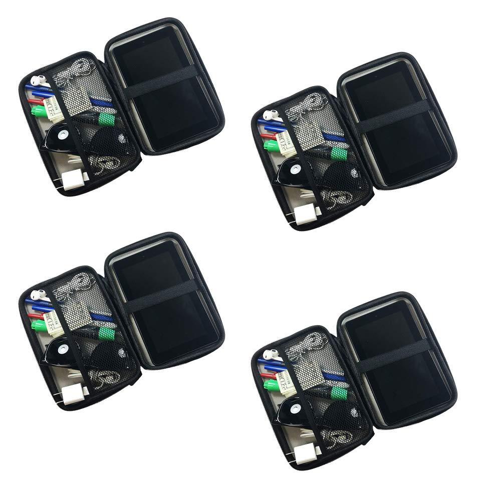 新作からSALEアイテム等お得な商品満載 CABANA B07NLHY17C SPORTS Infinite SPORTS トラベルアクセサリーケース 電化製品、サングラス、タブレット Black、その他のアクセサリーを安全かつ安全に持ち運べます。 Black 4 Pack B07NLHY17C, かばんやさん:2e4133c8 --- senas.4x4.lt