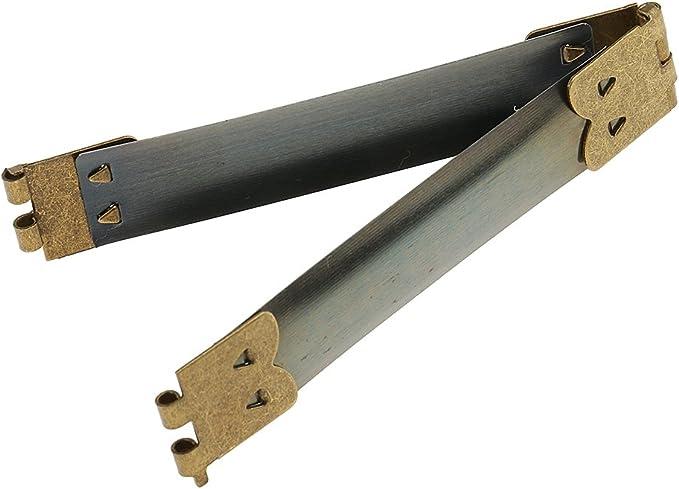 CRAFTMEmore 2sets 1-1//8 Rectangle Turn Lock Clasp Purse Closure Twist Lock Leathercraft Accessory Purse Lock Gold