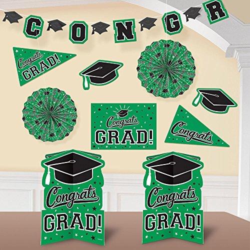 Amscan Graduation Room Decorating Kit 2018 Grad Party