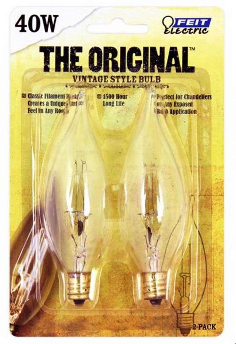 Feit electric bp40cftrp 40 watt candelabra light bulb pack 2 feit electric bp40cftrp 40 watt candelabra light bulb pack 2 count wall sconces amazon arubaitofo Gallery