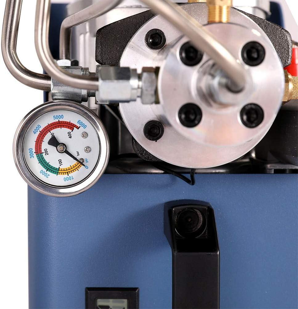 Hochdruckluftpumpe Kompressorpumpe Selbstabschaltung Kompressor Hochdruck f/ür die Aufblasflasche 1800W 30Mpa 4500PSI Kompressor Hochdruck