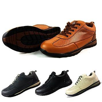 Chaussures De Sécurité Pour Homme Embout En Acier Cuir Marron