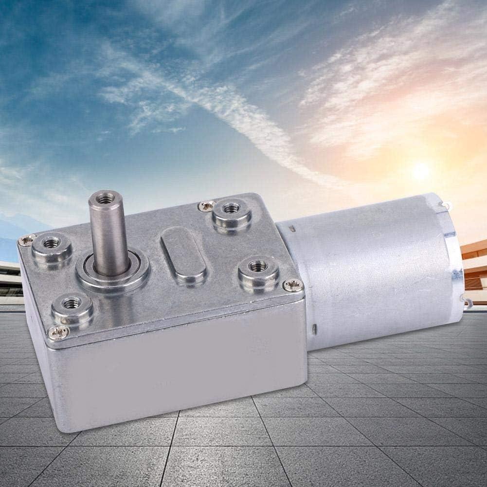 motoriduttore a Vite Senza fine a Torsione 12 V per scopi Multipli 40RPM Pbzydu Motore di riduzione della velocit/à CC di Tipo Micro