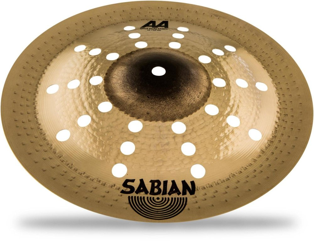 Sabian 12'' AA Mini Holy China Brilliant, Natural, 21216CSB)