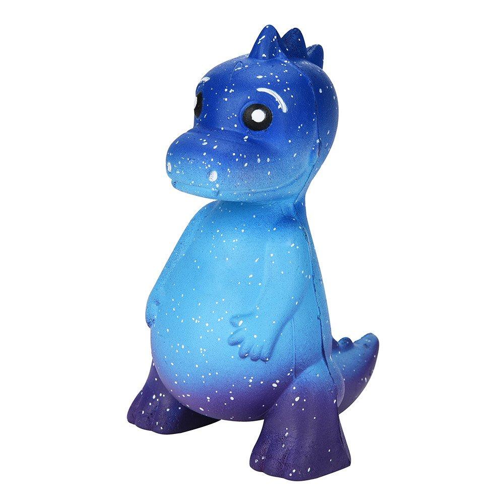 Lurcardo Squishy Kawaii Galaxy Dinosaur Squishy Juguete Squishy Squeeze Squishies Slow Rising Squishes Juguete Estr/és Alivio Suave Juguete Lento Aumento Juguetes Toys