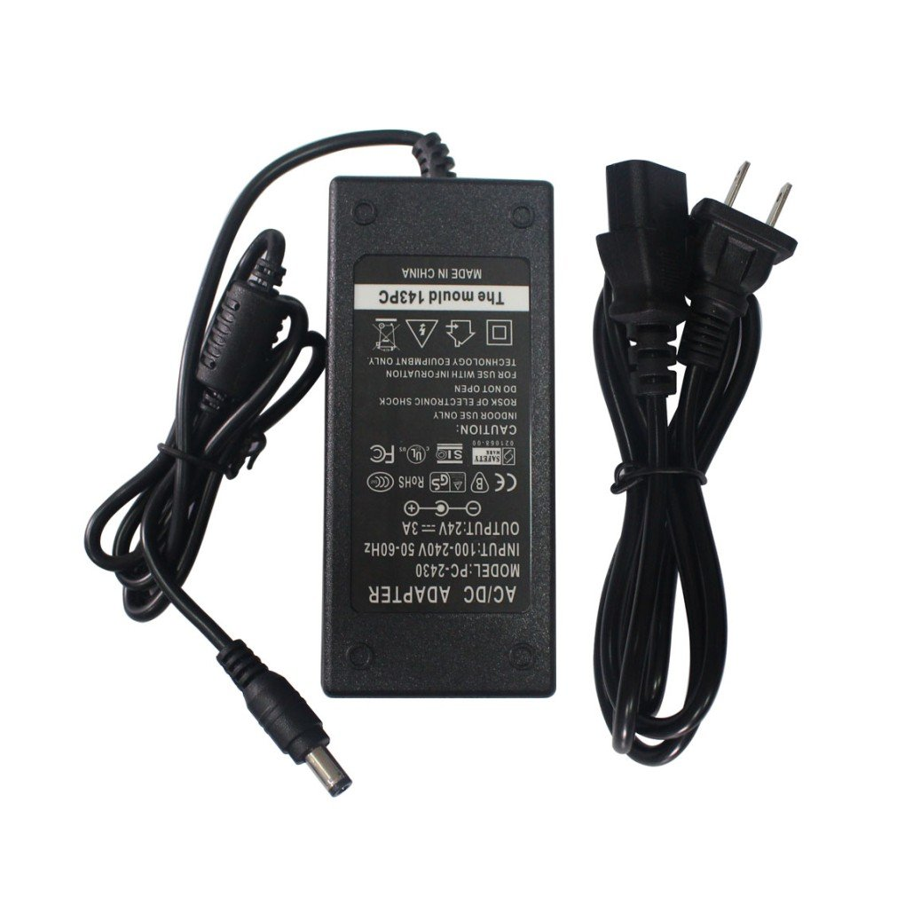 AC Adapter Charger Power Supply for Zebra Eltron TLP2844 TLP LP 2844 2824 GC420 GC420T GC420d Label Printer