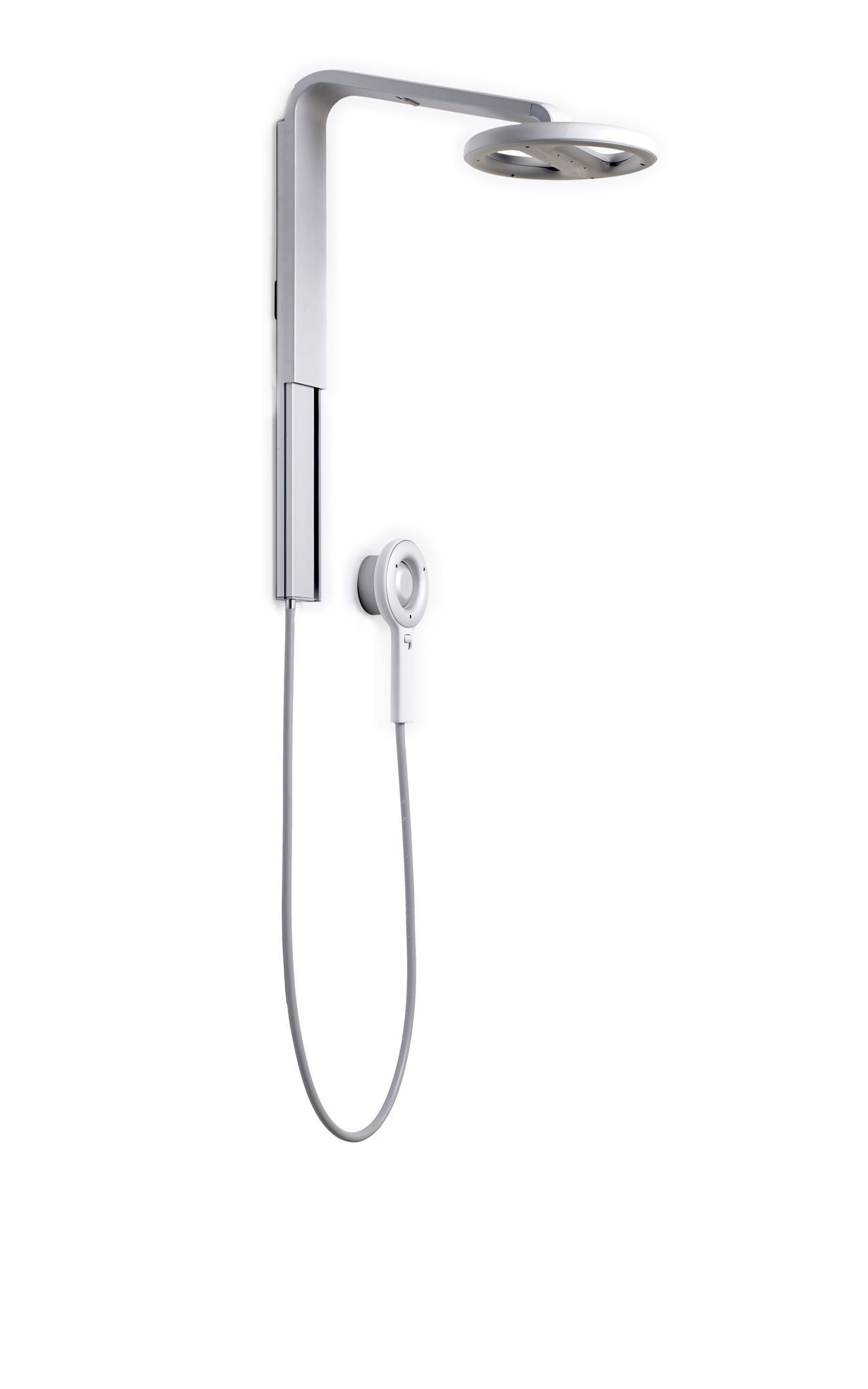 Nebia Spa Shower: Luxury Water Innovation. Sustainable Atomizing Shower System with 10'' Head, Handheld Wand, Adjustable Height. Award Winning Design, Aluminum, Easy DIY Install. Made in USA.