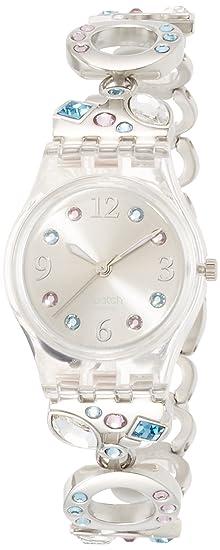 molto carino 90c55 eccd7 Swatch Orologio da Donna Analogico al Quarzo con Cinturino in Acciaio Inox  – LK 292G