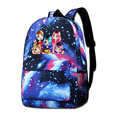 BITH Funneh Travel Star Sky Backpack School Bag Shoulder Bag: Computers & Accessories