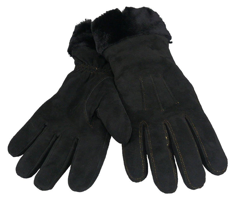 Fingerhandschuh für Damen in echtem Lammfell