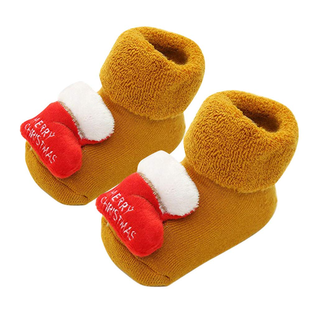 2Pcs Toddler Baby Anti Slip Skid Socks Cute Animal Stripes No-Show Crew Boat Baby Socks sneakers for 0-18 Months