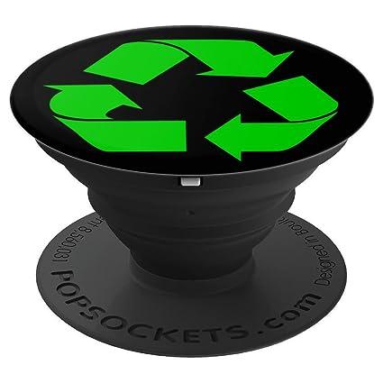 Amazon.com: Señal de reciclaje Pop – Llave de vaso verde y ...