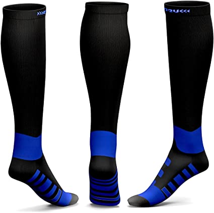 Amazon Com Compression Socks Men Women Calf Knee High For Edema