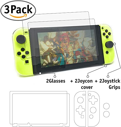 Kit de accesorios para Nintendo Switch - Pevita - 2 Protector de ...