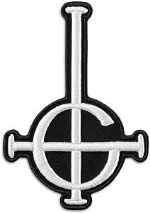 de metal pesado y banda de rock duro Parche bordado con el s/ímbolo de Grucord Ghost BC