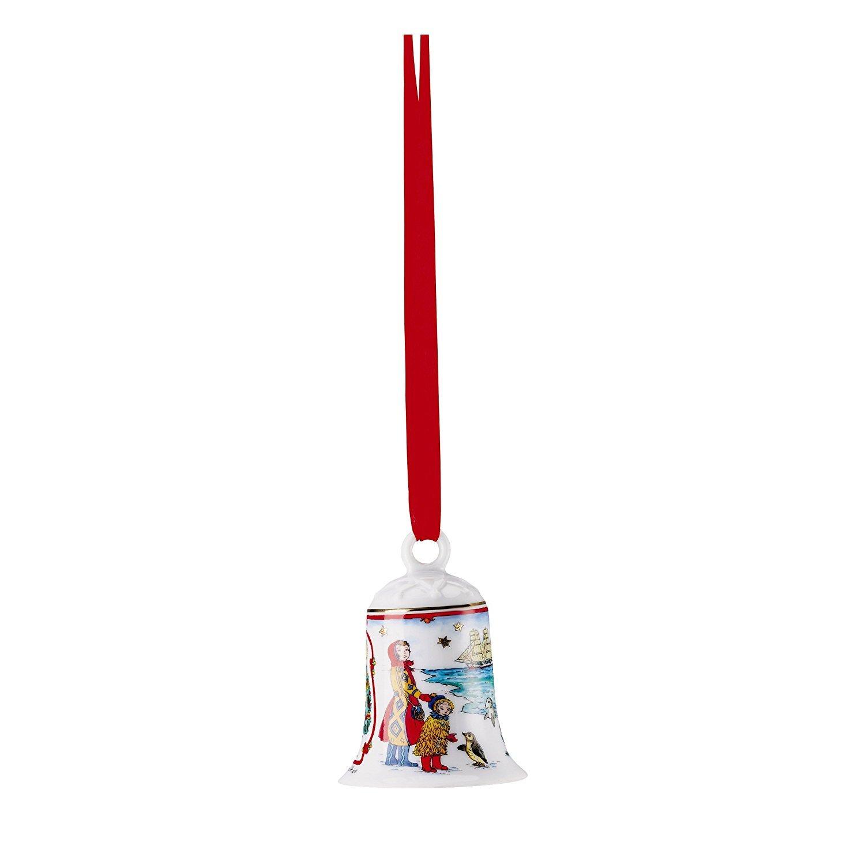 Hutschenreuther 02250–722820–27920in porcellana campana 2017 suedpol 7cm porcellana campana, Porcellana, Multicolore, 7.5x 7.5x 10.5cm Rosenthal GmbH 02250-722820-27920