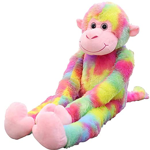 Ogquaton - Juguete de peluche creativo y bonito mono de ...
