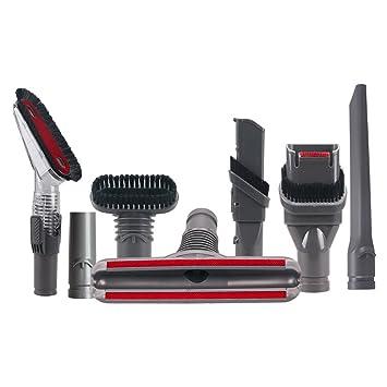 TeKeHom - Juego de 7 herramientas de limpieza para el hogar, accesorios de vacío, piezas de repuesto ...