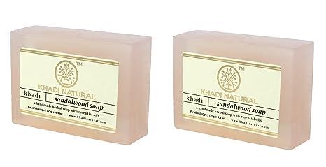 Buy Khadi Natural Sandalwood Soap 125g Pack Of 2 Online At Low