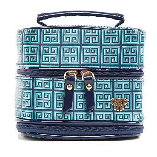 PurseN Prima Vacationer Jewelry Case (Large, Midnight Garden)