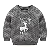 Product review for LittleSpring Little Boys Outerwear Animal Christmas