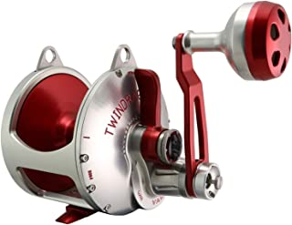product image for Accurate Valiant BV2-1000 Reel - Right-Handed - Red/Silver