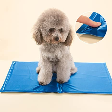 XULO Almohadilla De Enfriamiento para Mascotas Almohadillas para Gatos Esteras Portátiles No Más Sobre Calefacción Colchón