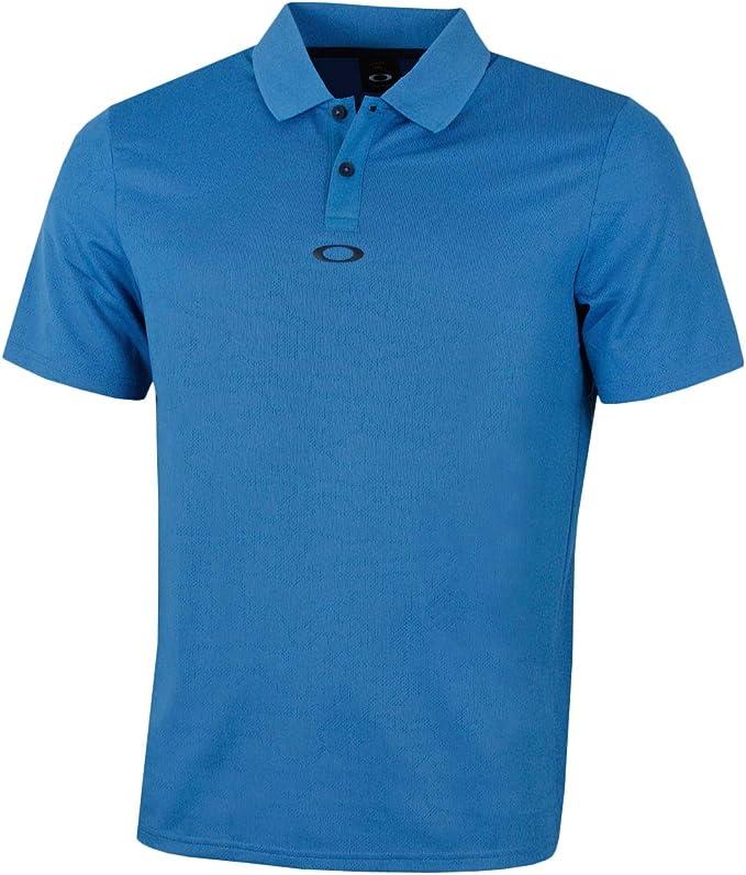 Oakley Mens Polo Shirt Ss Perforated, California Blue, XXL ...